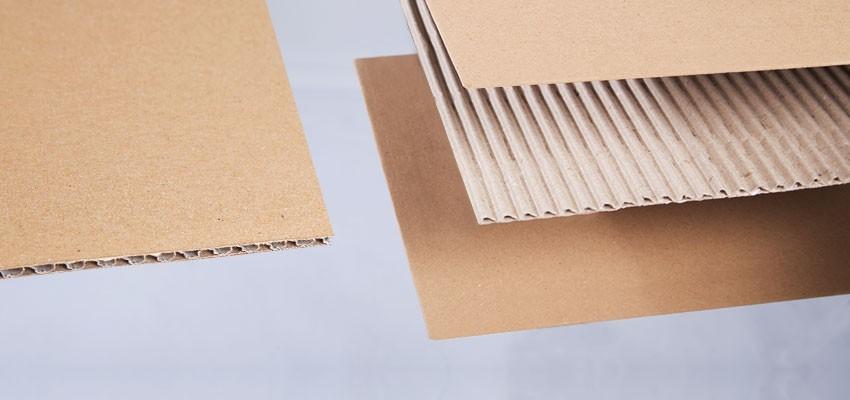 Verschiedene Qualitäten bei Kartons